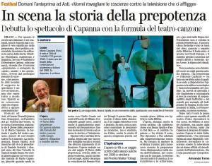 Corriere della sera - luglio 2011